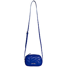 Buy Calvin Klein Nora Mini Across Body Bag, Blue Online at johnlewis.com