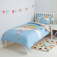 Buy little home at John Lewis Balloon Duvet and Pillowcase Set, Single Online at johnlewis.com