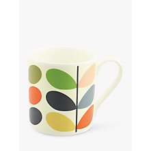 Buy Orla Kiely Linear Stem Large Mug, Multi Online at johnlewis.com