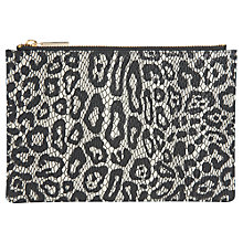 Buy Whistles Leopard Snake Small Clutch Online at johnlewis.com