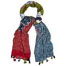 Buy White Stuff Saigon Patchwork Floral Scarf, Multi Online at johnlewis.com