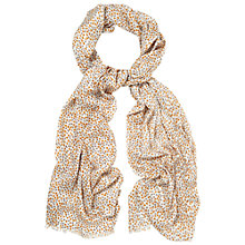 Buy White Stuff Urban Mini Heart Scarf, Yellow Online at johnlewis.com