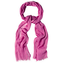 Buy White Stuff Skinny Dreaming Away Scarf, Pink Online at johnlewis.com