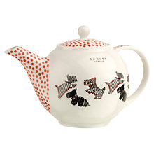Buy Radley Fleet Street Porcelain Teapot, Ivory Online at johnlewis.com