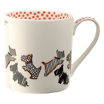 Radley Fleet Street Porcelain Mug, Ivory