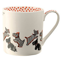 Buy Radley Fleet Street Porcelain Mug, Ivory Online at johnlewis.com