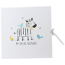 Buy John Lewis Zebra Keepsake Box Online at johnlewis.com