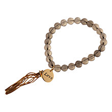 Buy Adele Marie Bead and Charm Stretch Bracelet Online at johnlewis.com