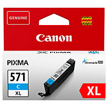Buy Canon PGI-571 Pixma XL Ink Cartridge Online at johnlewis.com
