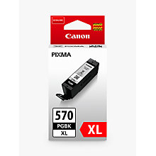 Buy Canon PGI-570 Pixma Black Ink XL Cartridge Online at johnlewis.com