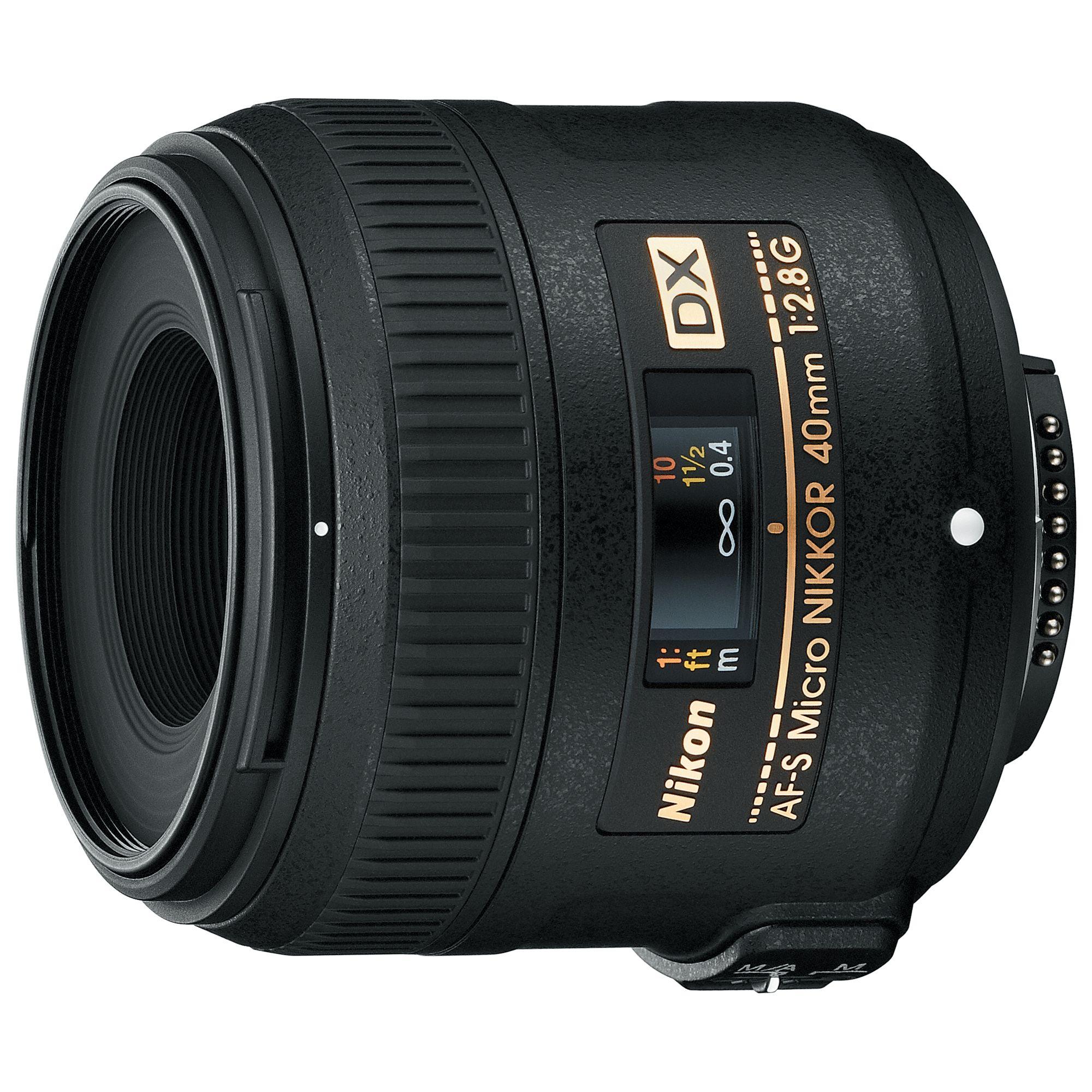 Nikon Nikon AF-S 40mm f/2.8 G DX Compact NIKKOR Lens