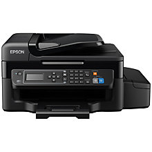 Buy Epson Ecotank ET-4500 Four-In-One Wi-Fi Printer with High Capacity Integrated Ink Tank System & 2 Years Ink Supply Included Online at johnlewis.com