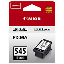 Buy Canon PG-545 Black Ink Cartridge Online at johnlewis.com