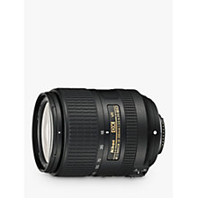 Buy Nikon AF-S DX NIKKOR 18-300mm F/3.5-6.3G ED VR Wide Angle & Telephoto Lens Online at johnlewis.com
