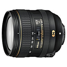 Buy Nikon AF-S DX NIKKOR 16-80mm F2.8-4E ED VR Compact Lens Online at johnlewis.com