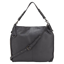Buy Mint Velvet Darcey Hobo Bag, Grey Online at johnlewis.com