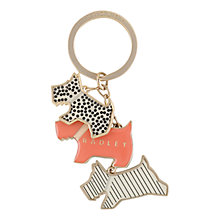 Buy Radley Fleet Street Keyring, Multi Online at johnlewis.com