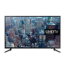 "Buy Samsung UE40JU6000 LED 4K Ultra-HD Smart TV, 40"" with Freeview HD and Built-In Wi-Fi Online at johnlewis.com"