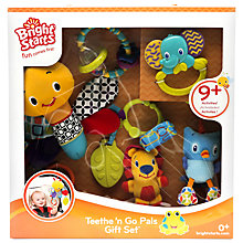 Buy Bright Starts Teethe 'N' Go Pals Gift Set Online at johnlewis.com