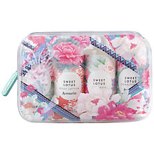 Buy Accessorize Sweet Lotus Ultimate Bath & Body Travel Collection Online at johnlewis.com