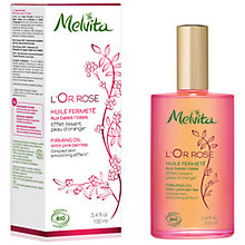 Buy Melvita L'or Rose Firming Oil, 100ml Online at johnlewis.com