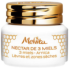 Buy Melvita 3 Honeys Nectar Balm, 8g Online at johnlewis.com