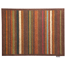 Buy John Lewis Hug Rug, Warm Stripe, L85 x W65cm Online at johnlewis.com