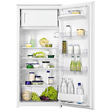 Buy Zanussi ZBA22421SA Built-In Fridge with Freezer Compartment, A+ Energy Rating, 54cm Wide Online at johnlewis.com