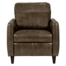 Buy John Lewis Dalston Leather Armchair Online at johnlewis.com