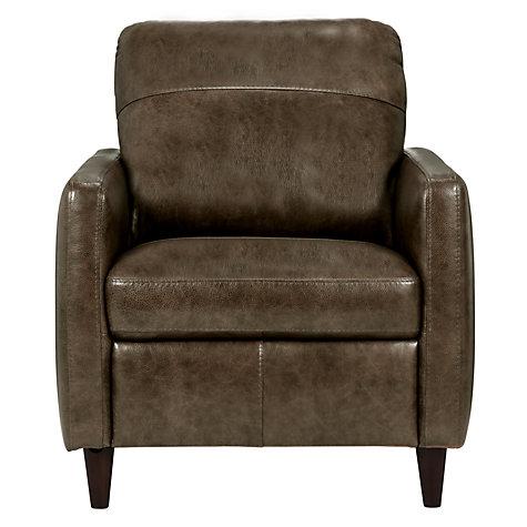 Buy John Lewis Dalston Leather Armchair John Lewis