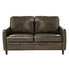Buy John Lewis Dalston Small Leather Small Sofa Online at johnlewis.com