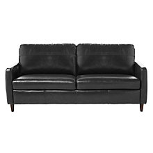 Buy John Lewis Dalston Large Leather Sofa Online at johnlewis.com