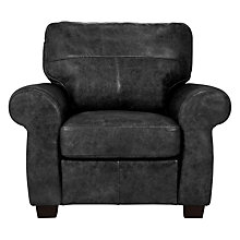 Buy John Lewis Hampstead Leather Armchair Online at johnlewis.com