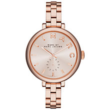 Buy Marc Jacobs Women's Sally Stainless Steel Bracelet Strap Watch Online at johnlewis.com