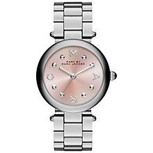 Buy Marc Jacobs Women's Dotty Stainless Steel Bracelet Strap Watch Online at johnlewis.com