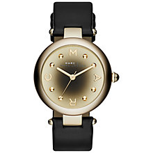 Buy Marc Jacobs Women's Dotty Leather Strap Watch Online at johnlewis.com