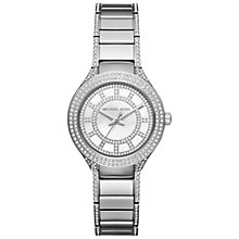 Buy Michael Kors Women's Mini Kerry Stainless Steel Bracelet Strap Watch Online at johnlewis.com