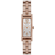 Buy DKNY NY2429 Women's Stainless Steel Pelham Bracelet Strap Watch, Rose Gold/Silver Online at johnlewis.com