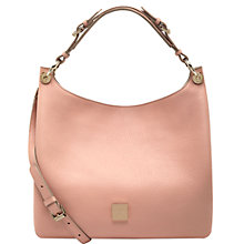 Buy Mulberry Freya Small Leather Hobo Bag, Rose Petal Online at johnlewis.com