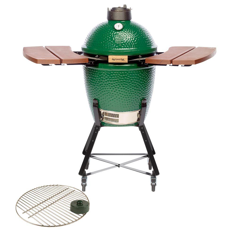 Big Green Egg Big Green Egg Medium Ceramic Charcoal BBQ