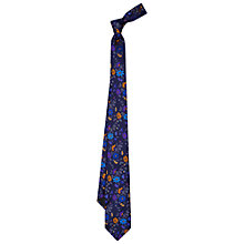 Buy Duchamp Sophisma Floral Silk Tie Online at johnlewis.com