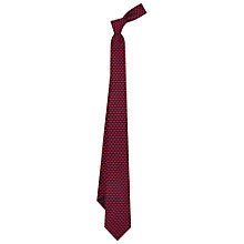 Buy Duchamp Box Pattern Silk Tie, Red Online at johnlewis.com