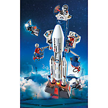 Buy Playmobil City Action Space Rocket and Base Station Online at johnlewis.com