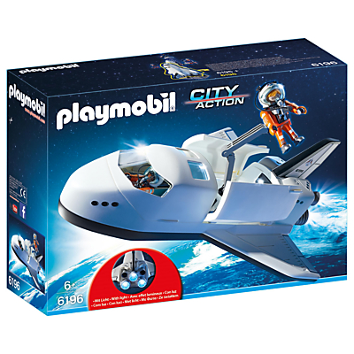 Click here for Playmobil City Action Space Shuttle Set