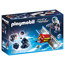 Buy Playmobil City Action Space Satellite Meteoroid Laser Set Online at johnlewis.com