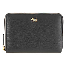Buy Radley Blair Medium Zip Around Leather Purse, Black Online at johnlewis.com