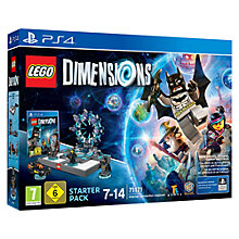 Buy Lego Dimensions: Starter Pack, PS4 Online at johnlewis.com