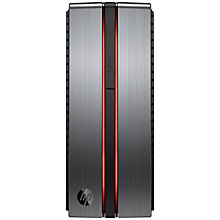 Buy HP Envy Phoenix 860-009na Desktop PC, Intel Core i7, 32GB RAM, 3TB+256GB SSD, Silver Online at johnlewis.com