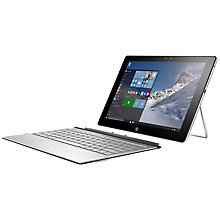"Buy HP Spectre X2 12-a000na Convertible Tablet Laptop, Intel Core M3, 4GB RAM, 128GB SSD, 12"" Touch Screen, Natural Silver Online at johnlewis.com"