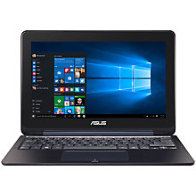 "Buy ASUS Transformer Flip Book TP200SA Laptop, Intel Celeron, 2GB RAM, 32GB, 11.6"" Online at johnlewis.com"